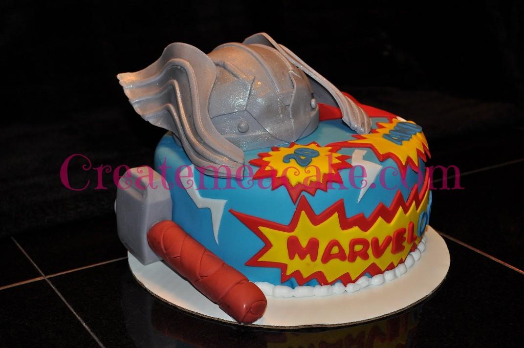 Thor Cake Create Me A Cake