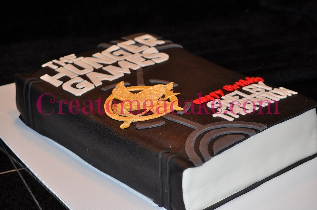 The Hunger Games Cake Create Me A Cake