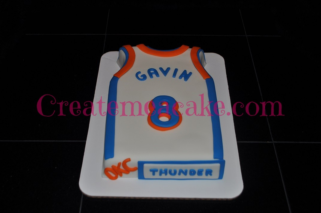 a61567344 oklahoma city thunder basketball cake – Create Me A Cake