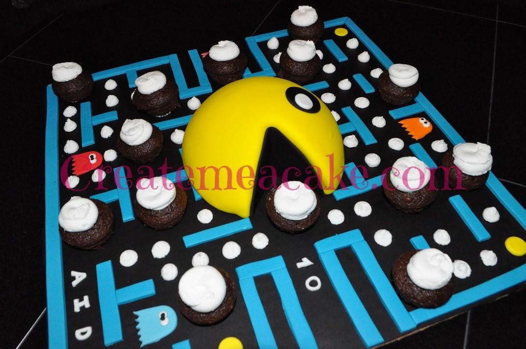 Pac Man Birthday Cake Create Me A Cake