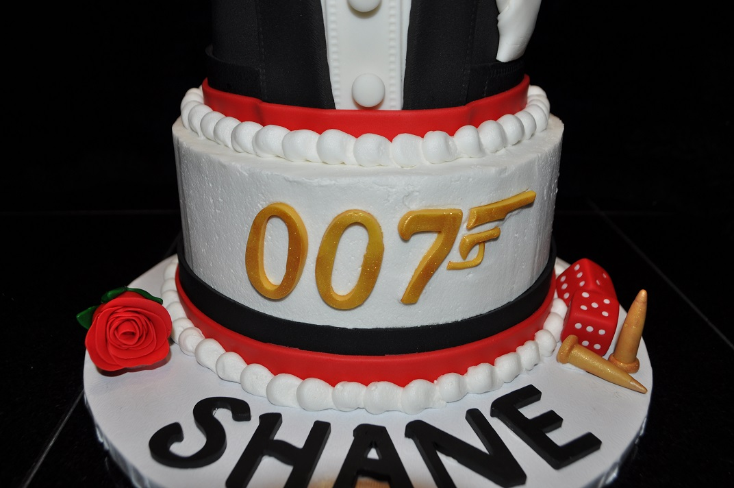James Bond Cake Create Me A Cake